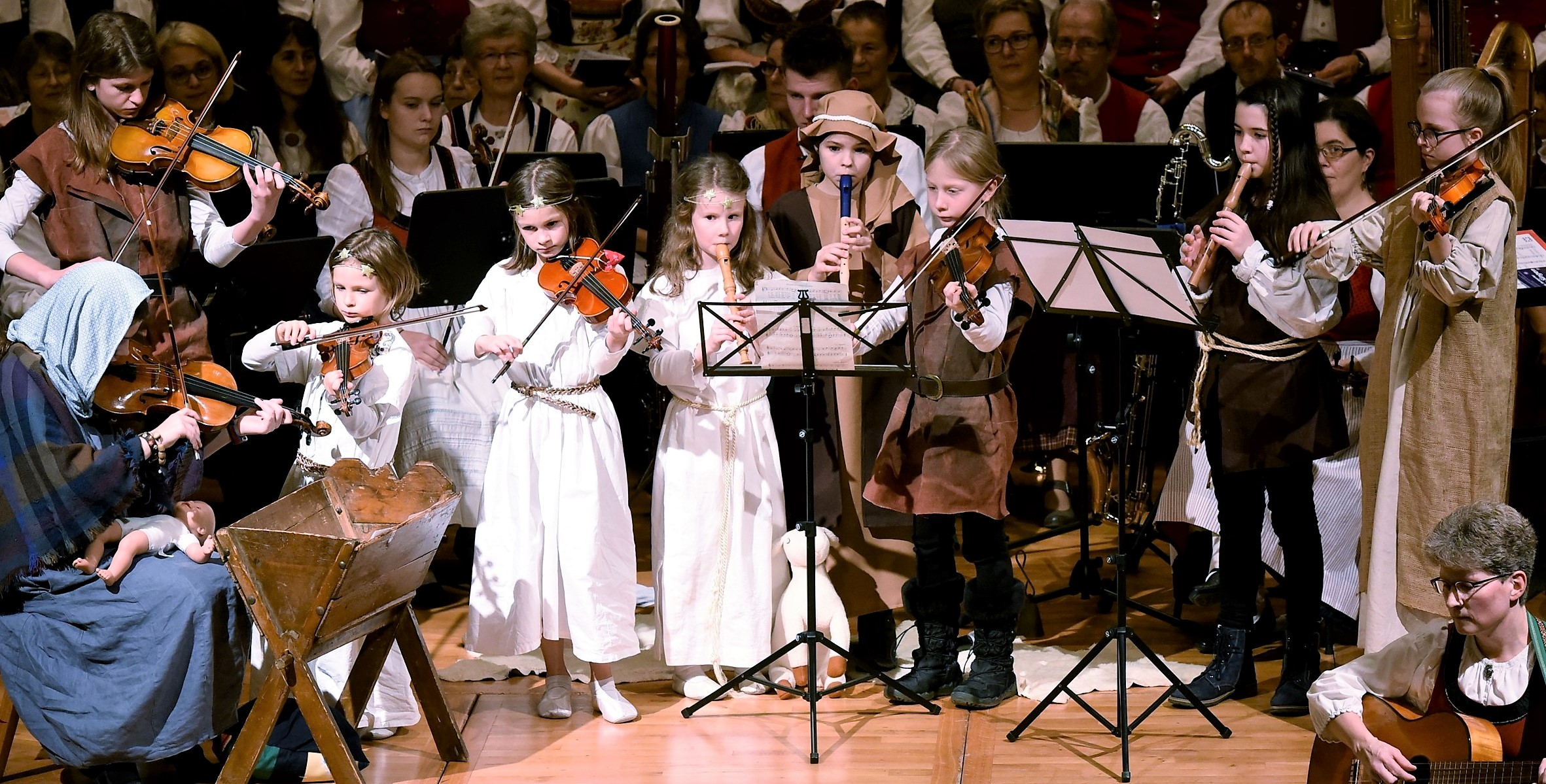 Adventskonzert Stuttgarter Advents Singen - Kindergruppe